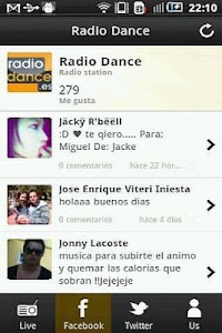 Radio Dance screenshot 1