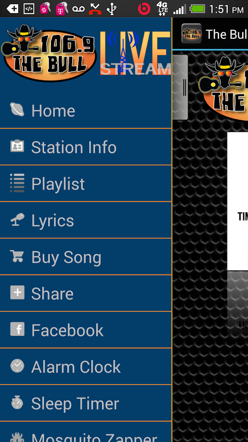 The Bull 106.9 - screenshot