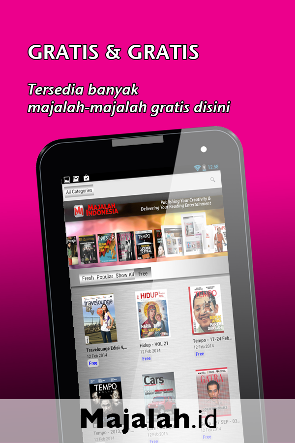 Majalah Indonesia- screenshot