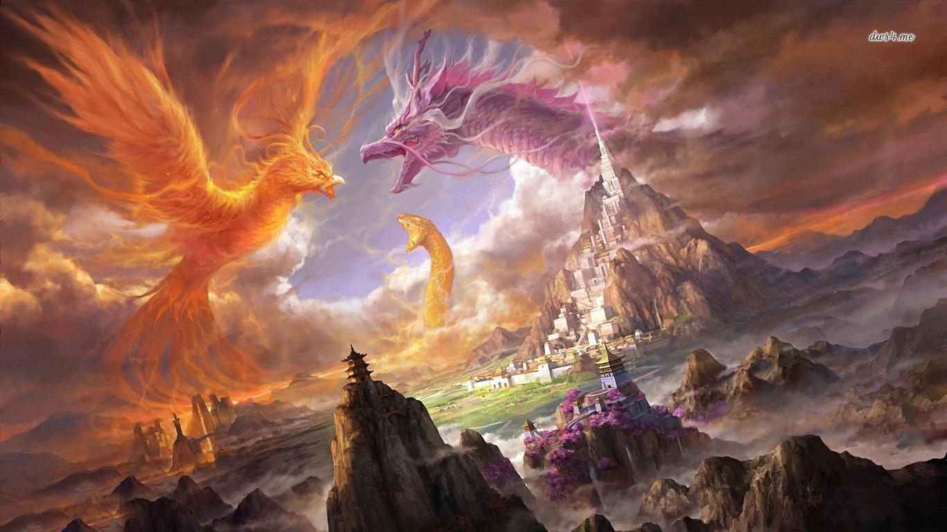 Dragon wallpapers hd fantasy android apps on google play for Fish store phoenix
