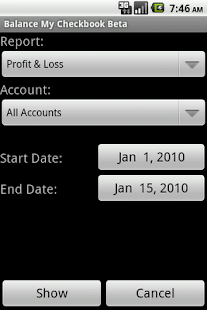 Balance My Checkbook Beta - screenshot thumbnail