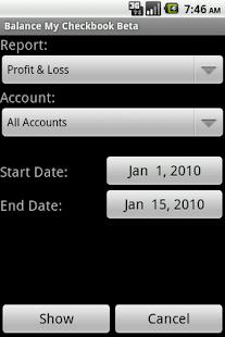 Balance My Checkbook Beta - screenshot thumbnail