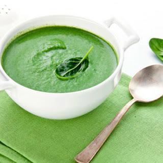 Creamy Spinach & Broccoli Soup
