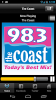 Screenshot of 98.3 The Coast
