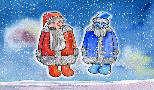 【免費書籍App】Two Frosts - Russian folk tale-APP點子