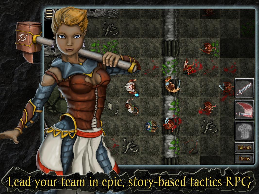 Heroes of Steel RPG Elite screenshots