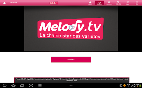 Melody.tv - Star des variétés - screenshot thumbnail