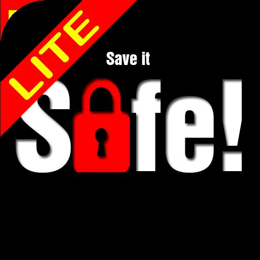 SaveItSafe! Lite wachtwoorden LOGO-APP點子