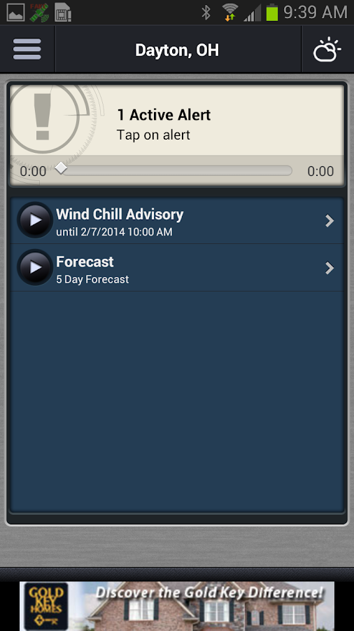 WHIO Weather - screenshot