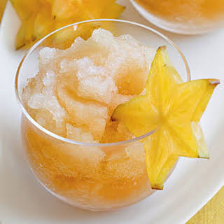 Passion Fruit-Tea Slush.