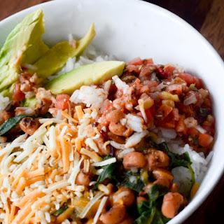 Tex-Mex Rice and Black-Eyed Peas.