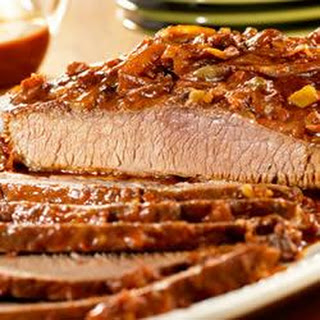 Slow-Cooked Carolina Beef Brisket.