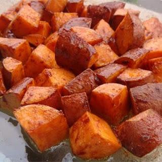 Cinnamon Sweet Potato Slices.