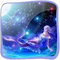 3D Mermaid logo