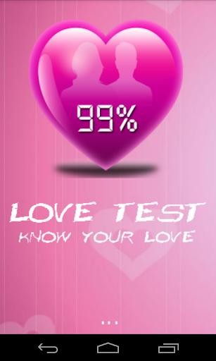 Love Test - Simulation