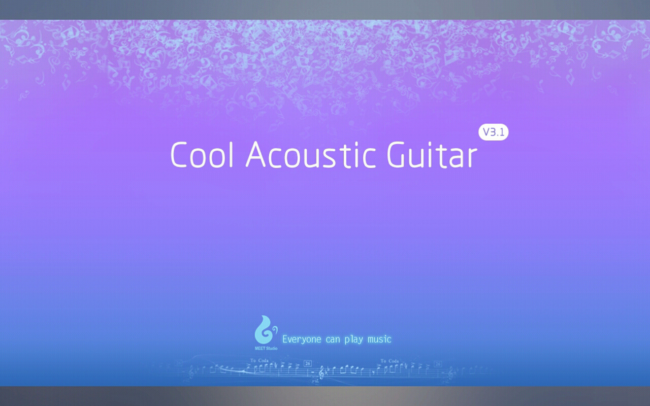 Cool Acoustic Guitar - screenshot