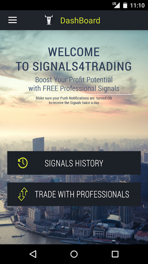 Trading Signals- screenshot