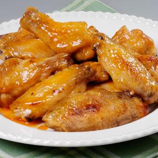 Spicy Honey-roasted Wings