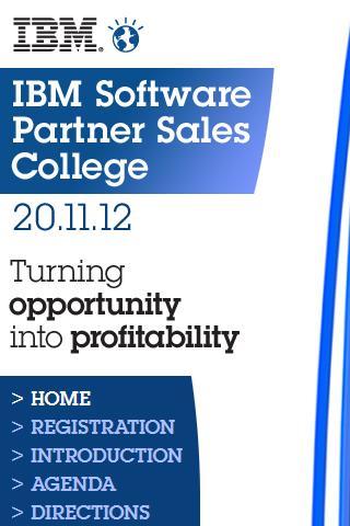 Software Partner Sales College