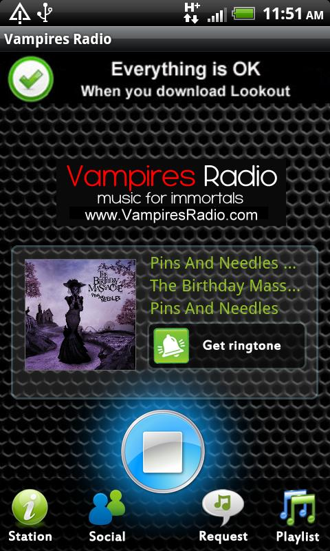 Vampires Radio - screenshot