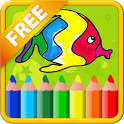 Learn Coloring - Kids Paint icon