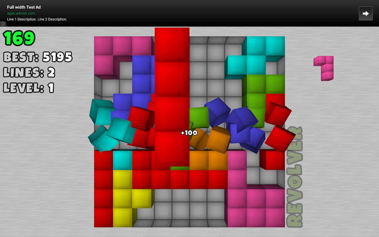 TetroCrate 3D: Brick Game - screenshot