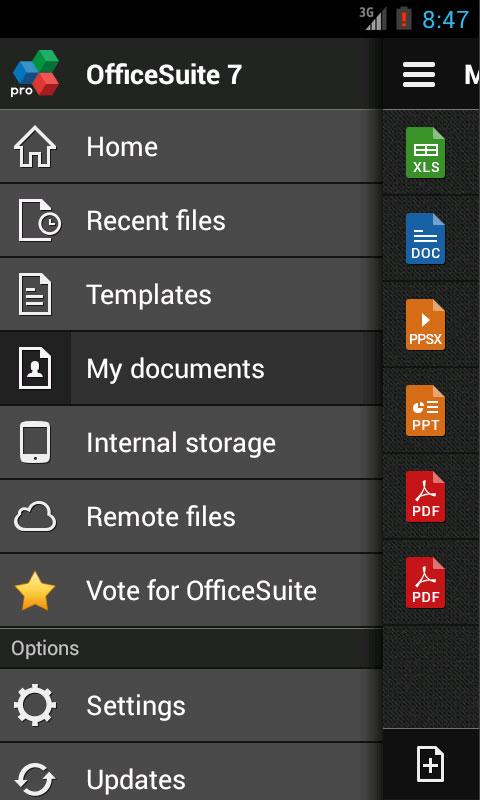 OfficeSuite Pro 7 (PDF & HD) - screenshot