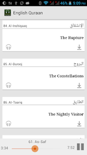【免費音樂App】Qur'an with English audio-APP點子