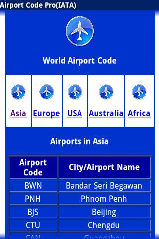 Airport Code Pro IATA