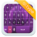 A.Itype theme gallery purple א icon