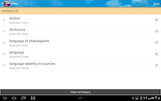 Screenshot of Russian English Dictionary