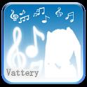 初音ミクのバッテリー icon