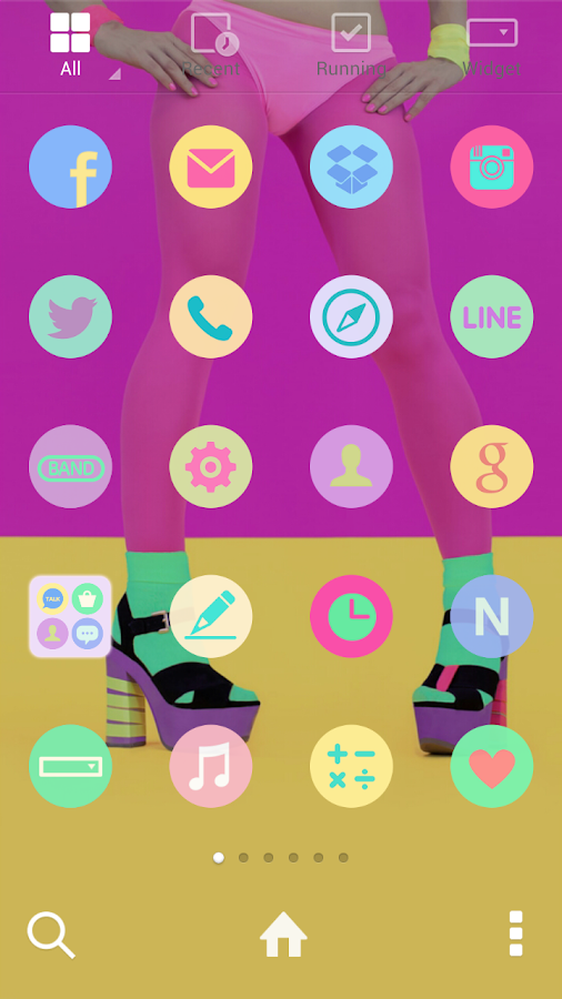 Light Color dodol theme- screenshot