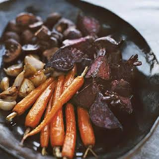 Oven-Roasted Vegetables.