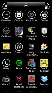 Crazy Home Windows Phone 7 - screenshot thumbnail