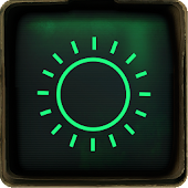 Go Weather Pip Boy 3000 theme