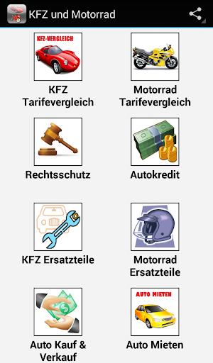 KFZ Motorrad Tarifevergleich