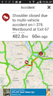 WPXI Traffic screenshot