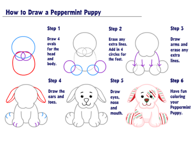 How To Draw Cute Puppies Google Play Store revenue download