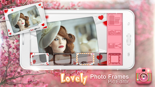 美麗照片相框和照片編輯