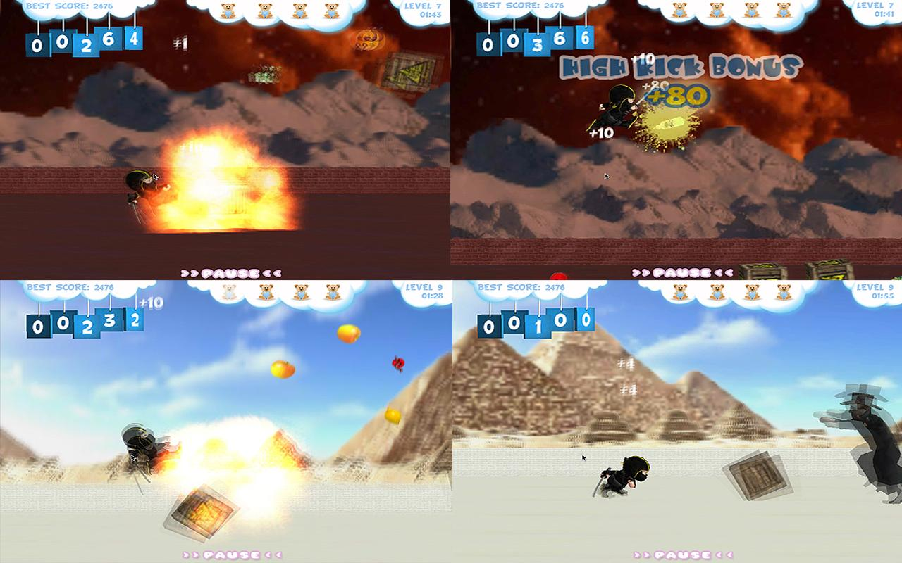 Baby Ninja Lite - screenshot