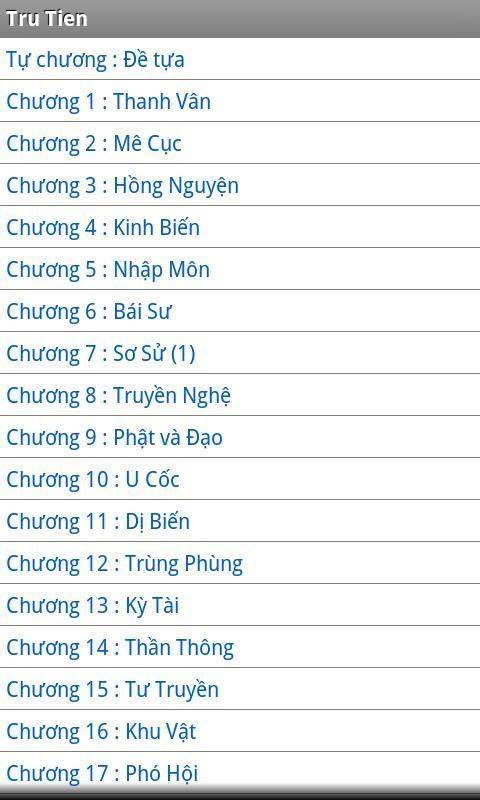 Tru Tiên - screenshot