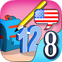 Kids English 8:Numbers&Letters icon