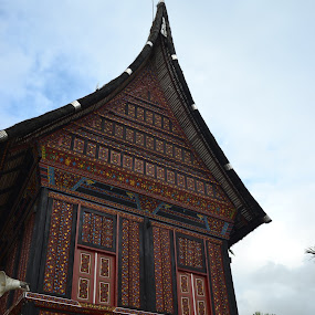 Gonjong by Alvi Eko Pratama - Buildings & Architecture Public & Historical ( indonesia, art, artistic, architecture, culture )
