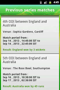 Cricket Live Score App - News- screenshot thumbnail