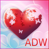 Theme Hearts for ADW Launcher