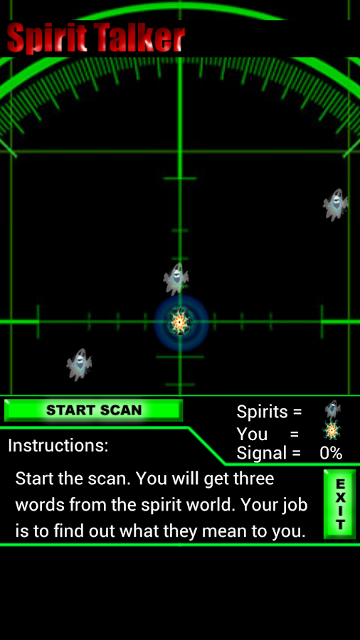 Spirit Talker Ghost Detector - screenshot