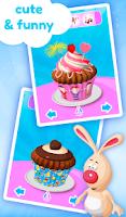 Screenshot of Cupcake Kids - Cooking Game