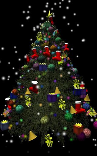 3Dクリスマスツリー