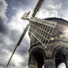 Chesterton mill by Brian Miller - Buildings & Architecture Public & Historical ( canon, warwickshire, mill, tower, windmill,  )